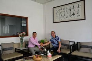 东南亚客户到访