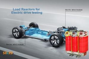 负载电抗器在国内某大型电动汽车测试中心成功安装和运行,用于电动汽车驱动器测试