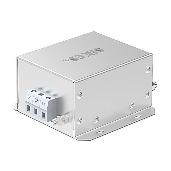 三相输出滤波器,EMC/EMI滤波器 10A , 2.2-4KW ,卧式