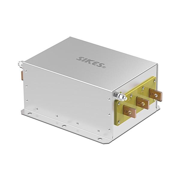三相输出滤波器,EMC/EMI滤波器 400A , 185-200KW ,卧式