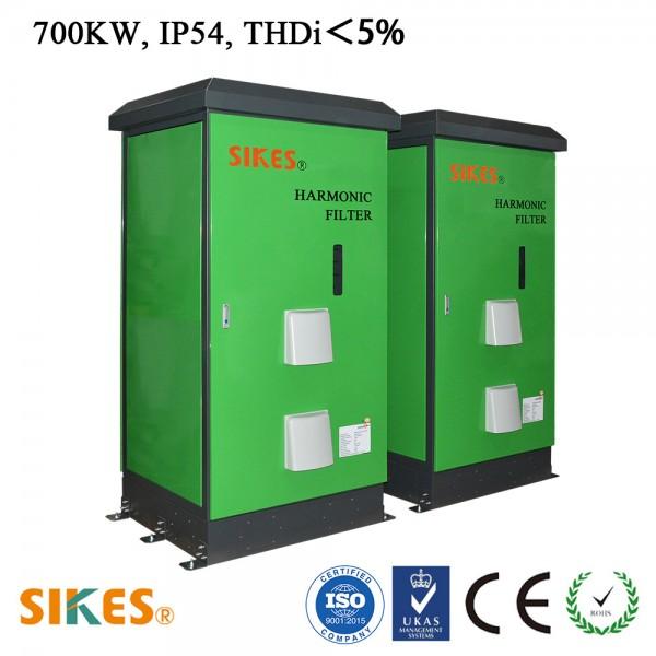 西凯士无源谐波滤波器,THDi<5%,700KW,1102A, IP54